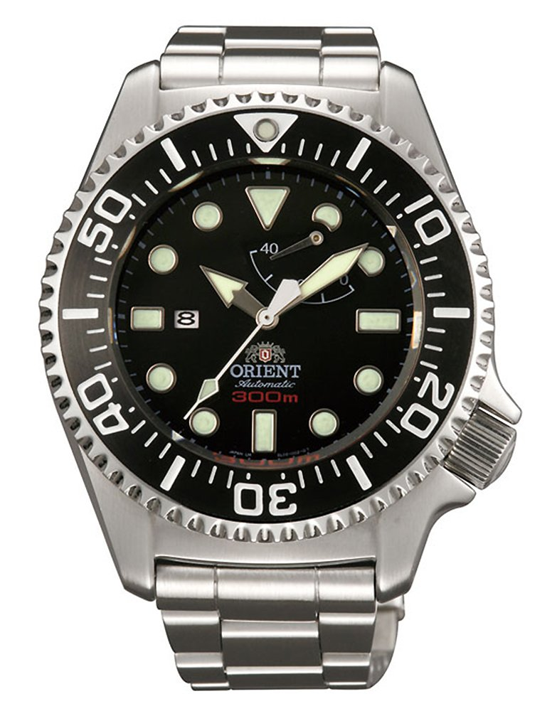 Orient Pro Saturation Dive Watch with Power Reserve and Sapphire Crystal EL02002B
