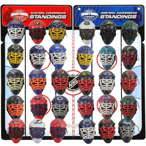 NHL NHL Micro Goalie Mask Standings Tracker Set ()