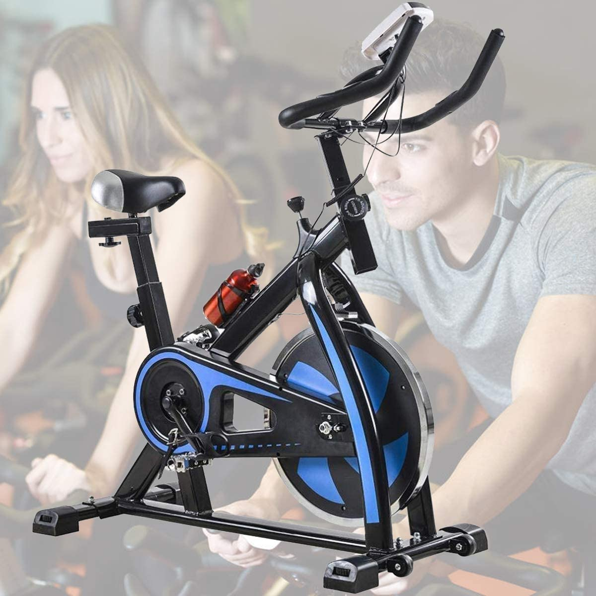 Bicycle Trainer Stationary Bike Cycle Stand Indoor Exercise Hi-Quality Fol YN
