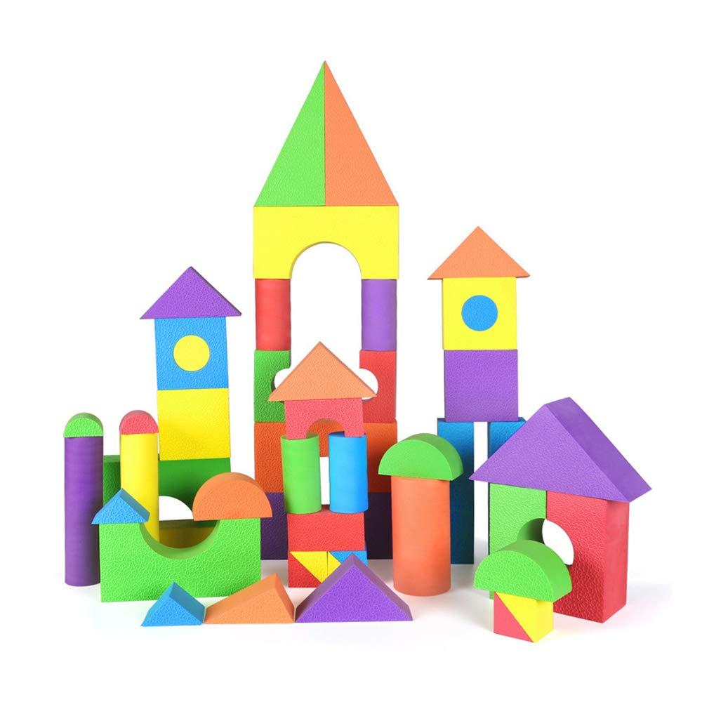 完売 フォームブロックセット Large、子供のおもちゃビルディングブロックエヴァ安全で無毒なパズルの建物のおもちゃのギフト,L Large B07Q6DLLCM B07Q6DLLCM, ミハルマチ:bf734628 --- 4x4.lt