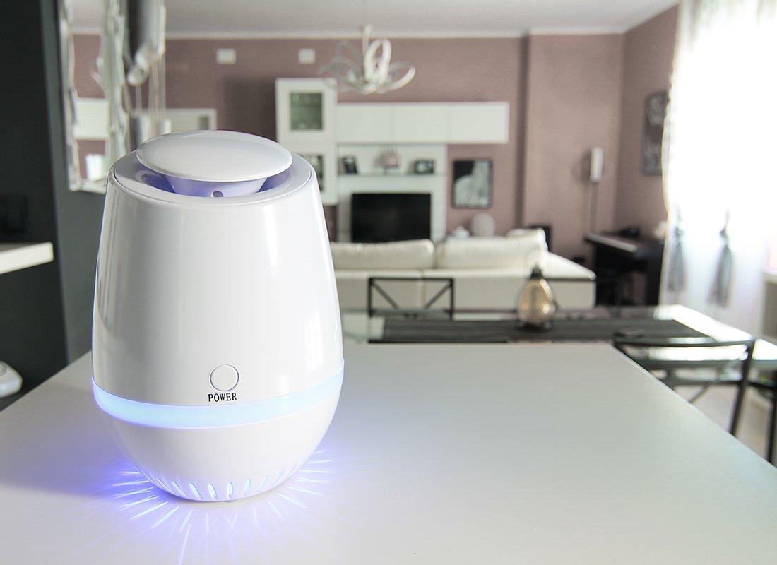 PLH - Purificador de aire generador de iones negativos y ozono para salas de hasta 60 m²: Amazon.es: Hogar
