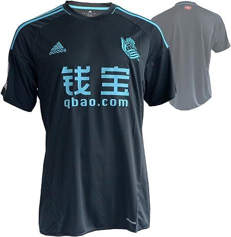 adidas 2ª Equipación Real Sociedad FC, Camiseta Oficial de Fútbol, Hombre, Azul, XL: Amazon.es: Ropa y accesorios