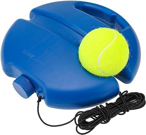 NOBRAND Juego de Pelota de Entrenador de Tenis Herramienta de Entrenamiento de Tenis para Auto Estudio de Tenis Herramientas Equipo Tenis Entrenando Trainer Entrenador de Tenis