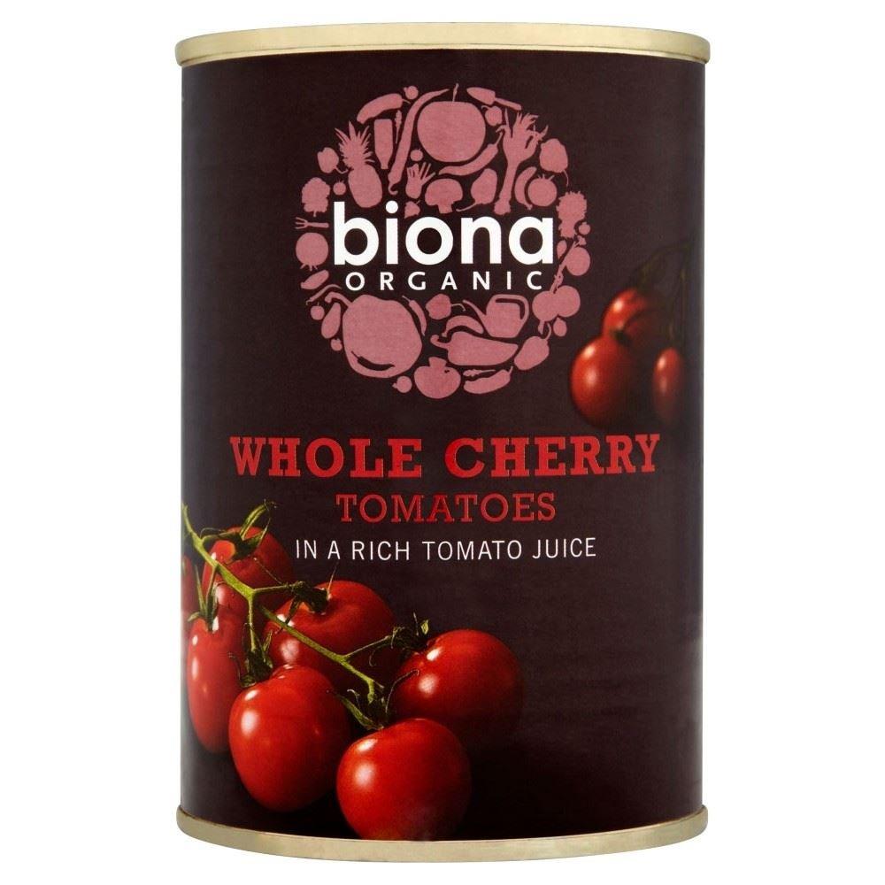 Biona Organic Whole Cherry Tomatoes (400g) - Pack of 2 by Biona Organic