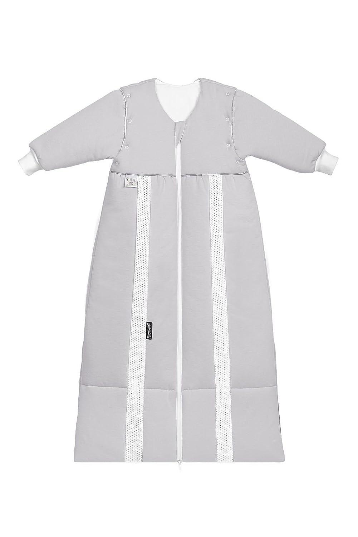 Odenwälder Prima Klima Thinsulate Schlafsack mit Ärmeln silber, Größe 110-130