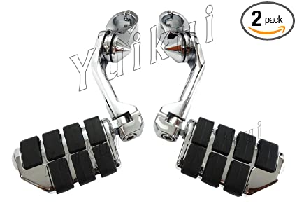 Motorcycle & ATV Chrome Or Black Highway Foot Pegs 32mm 1-1/4or 25.4mm 1 Universal Engine Guard Foot Peg For HONDA SHADOW VT 700 All years Foot Pegs