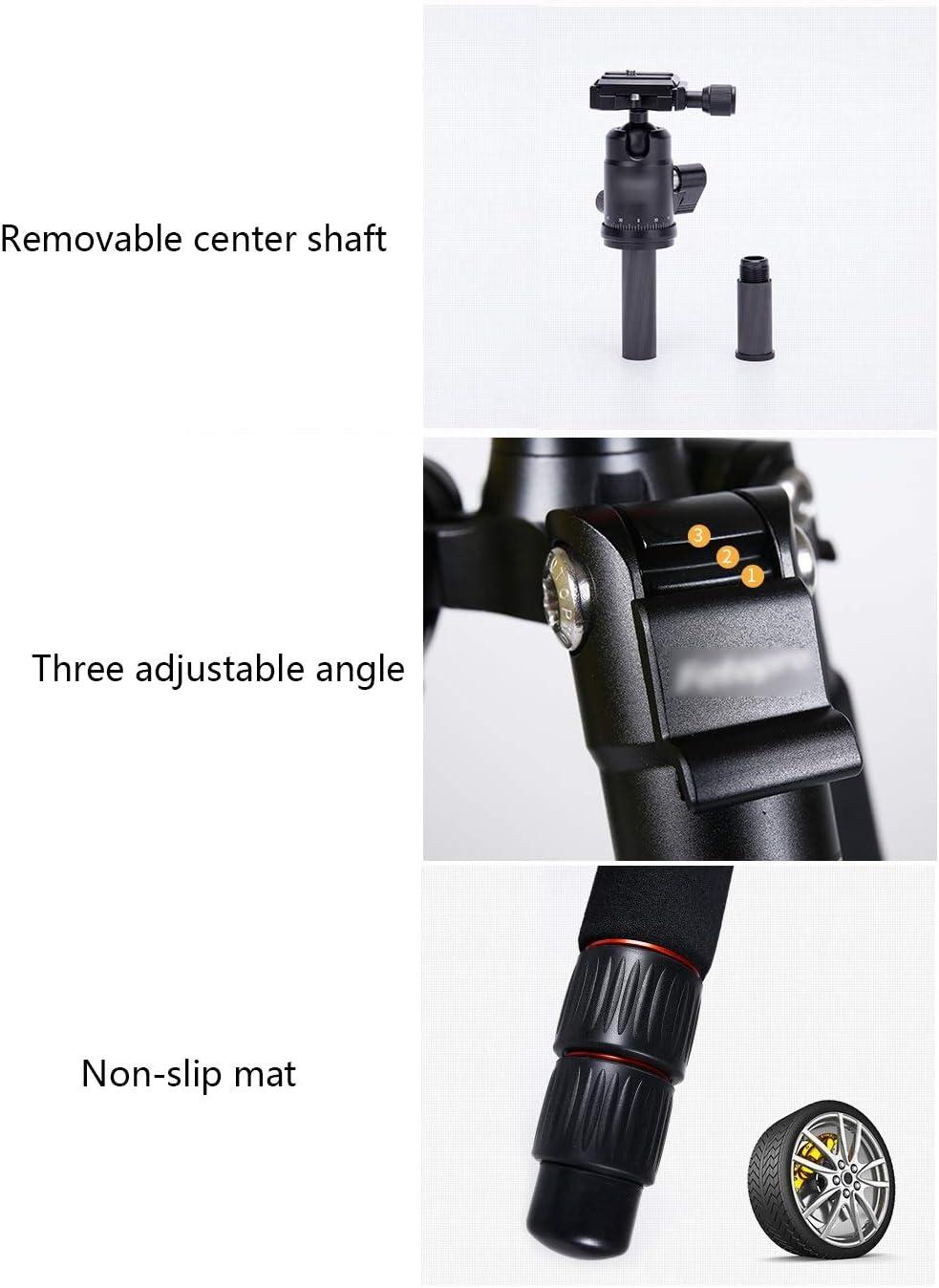 CJGXJZJ Mini Tripod Carbon Fiber//Aluminum Alloy Portable Outdoor Travel Ultra-Light SLR Micro Single Camera Small Professional Photography Camera Projector Tripod Bracket Multi-Style Optional
