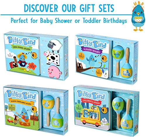 OUR BEST INTERACTIVE CLASSICAL MUSIC SOUND BOOK for BABIES with Melodies Mozart Beethoven. Educational Toys ages 1-3. Baby Books for one year old. Toddler Musical Book. 1 year old boy girl gifts. by Ditty Bird (Image #7)