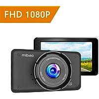 """Mibao Dash Cam per Auto Telecamera Auto Dashcam 1080P con 3.0"""" LCD, 170 Gradi, 6 Glens, G-Sensor, WDR, Rilevazione di Movimento, Registrazione in Loop, Monitor di Parcheggio"""