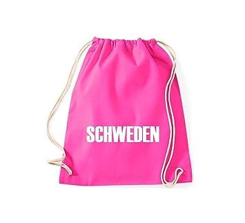 Camiseta stown Turn Bolsa Suecia País Países Fútbol, color rosa, tamaño 37 cm x