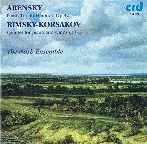 Arensky: Piano Trio in D Minor Op. 32 / Rimsky-Korsakov: Quintet for piano and winds in B flat