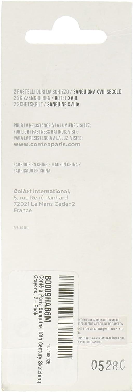 Cont/é /À Paris Set de 2 Carr/és de Esbozo Blanco 2B
