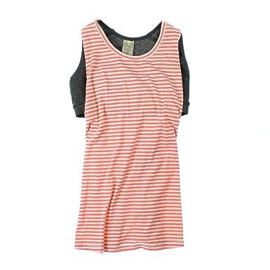 0f6689a43a Amazon.com: CALIA DRAPE SIDE DOUBLE LAYER TANK TOP WITH BRA (Medium):  Clothing