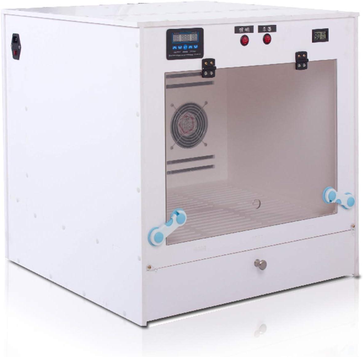 SXCWC Water Jet Caja del Animal doméstico Inteligente de Secado automático de la máquina Secadora del Pelo Grandes medianos y pequeños Perros y Gatos Universal Silencio Pequeño Gran Potencia,A