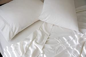 Oasis Fine Linens Stonewashed Linen Collection (Full, Cirrus)