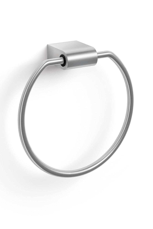 Zack 40423 atore asciugamano anello, in acciaio inox opaco