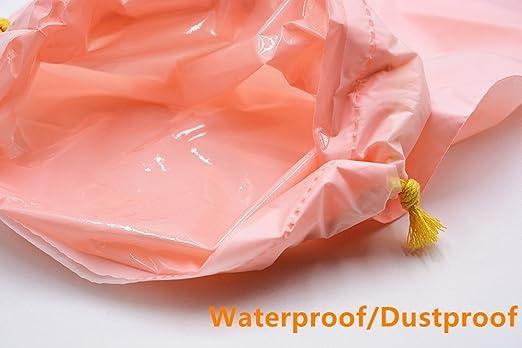 douperltd Juego de 2 tamaños menstrual vasos con funda de polvo y impermeable cordón bolsa de almacenamiento reutilizable período tazas hecho de mejor ...