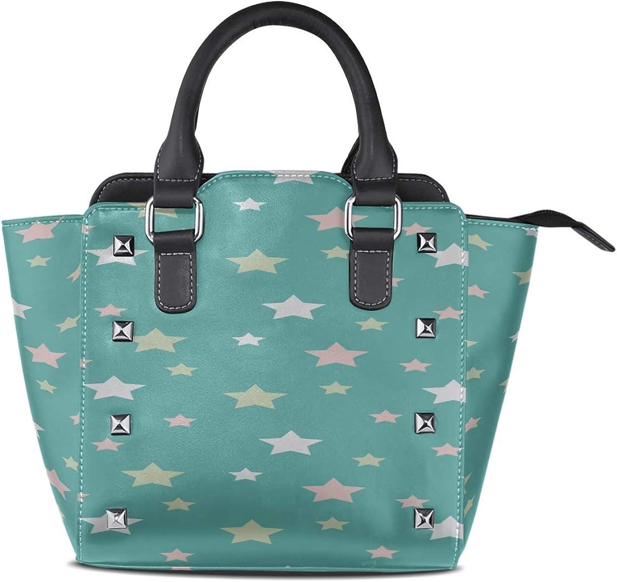 Fashion Bag Endless Christmas Pattern Design Custom Handle Purses Pu Leather Rivet Portable Fashion Printing Waterproof With Zipper Shoulder Bags Kids