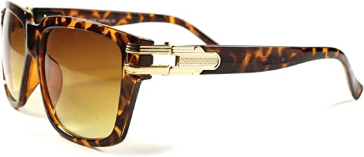 Mens Locs Sunglasses Urban Gangsta Fashion Wrap Around With Black Lenses UV400