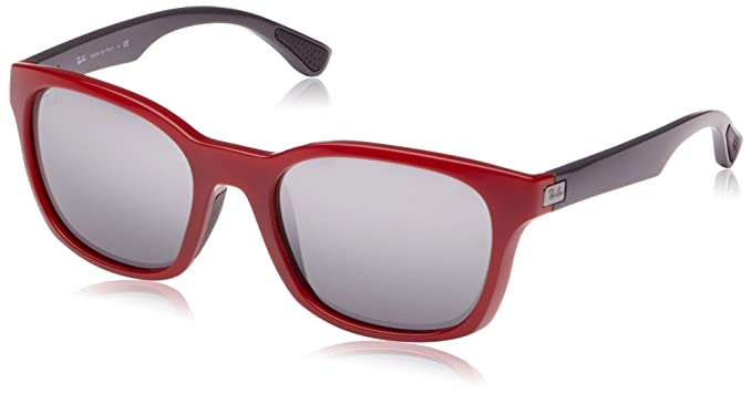 56e71539b7 Ray-Ban 4197 604488 Red 4197 Wayfarer Sunglasses Lens Category 3 ...