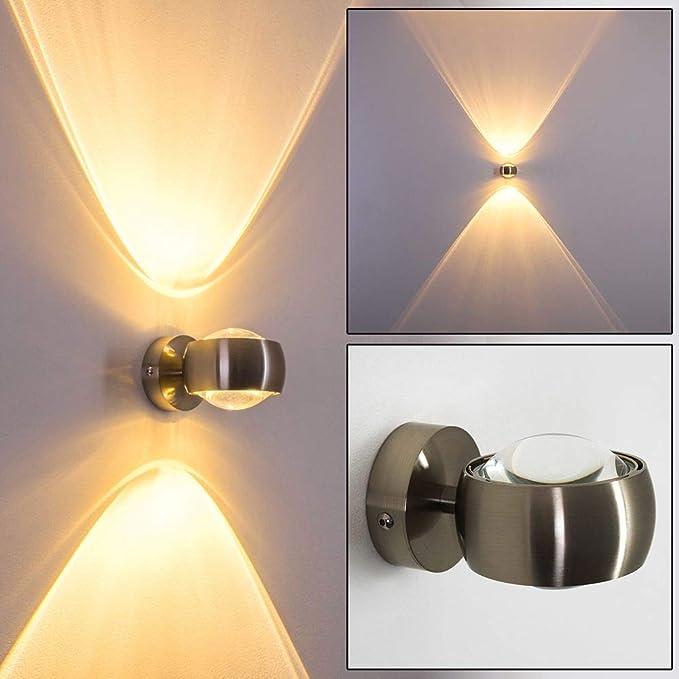 Mumnk Industrie Retro Bronze Wandleuchte Wandleuchte Europ/äischen Badezimmer-Schrank-Licht wasserdichtes Nebel LED-Make-Up-Spiegel-Licht 240 /° justierbare Winkel mit hohen Helligkeit Spiegel-Fro