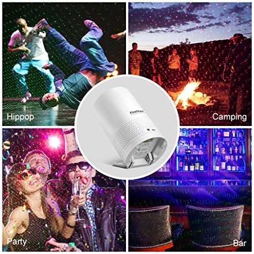 Finether Speaker Laser Light