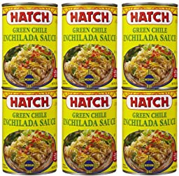 Hatch Green Chili Enchilada Sauce Medium, 15 oz, 6 pk