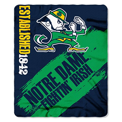 Notre Dame Fleece Throw - 1