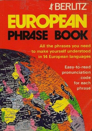 Berlitz European Phrasebook