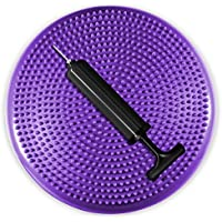 Yes4All 13 inch Stability Disc with Hand Pump (Purple)