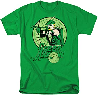 Green Lantern Video Game Box Art DC Comics Licensed Adult T-Shirt