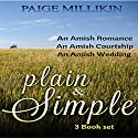 Plain & Simple: 3 Book Set Audiobook by Paige Millikin Narrated by Amanda Terman