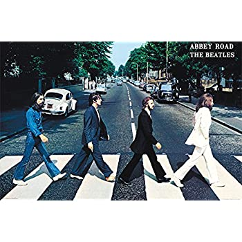 Trends International Wall Poster The Beatles Abbey Road 22375 X 34