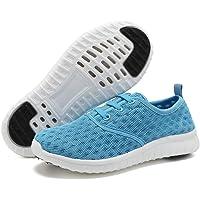 WALUCAN أحذية مائية للصبيان والفتيات سريعة الجفاف رياضية رياضية أحذية رياضية رياضية خفيفة الوزن (للأطفال الصغار/الأطفال…