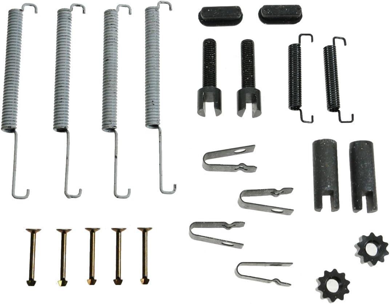 Rear Emergency Parking Brake Shoe Set /& Hardware Kit for Aspen Durango Ram