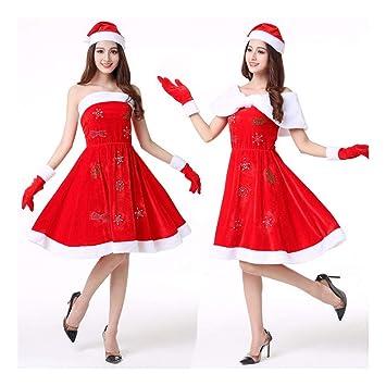 SDLRYF Disfraz De Papá Noel Festival De Navidad Disfraz ...