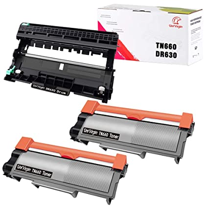 Compatible Brother TN-660 TN660 Toner Cartridge & DR630 Drum ...
