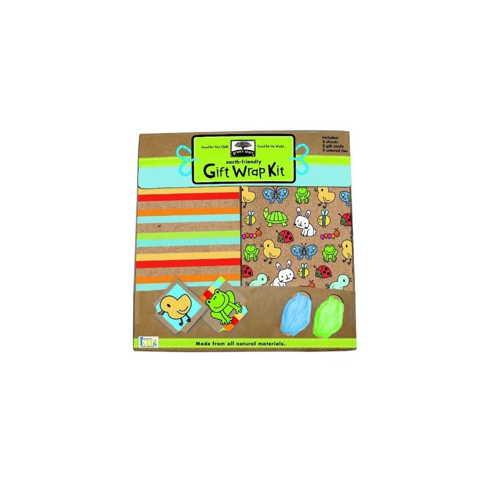 Green Start Gift Wrap Kits Backyard Babies   From Earth