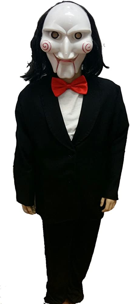 Disfraz de Muñeco Asesino Infantil - Niño, 10, Halloween: Amazon ...