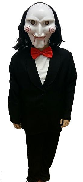 Disfraz de Muñeco Asesino Infantil - Niño, 6, Halloween: Amazon.es: Ropa y accesorios