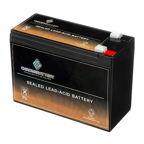 Amazon.com: 12 V 10 Ah Sla Batería para patinete eléctrico ...