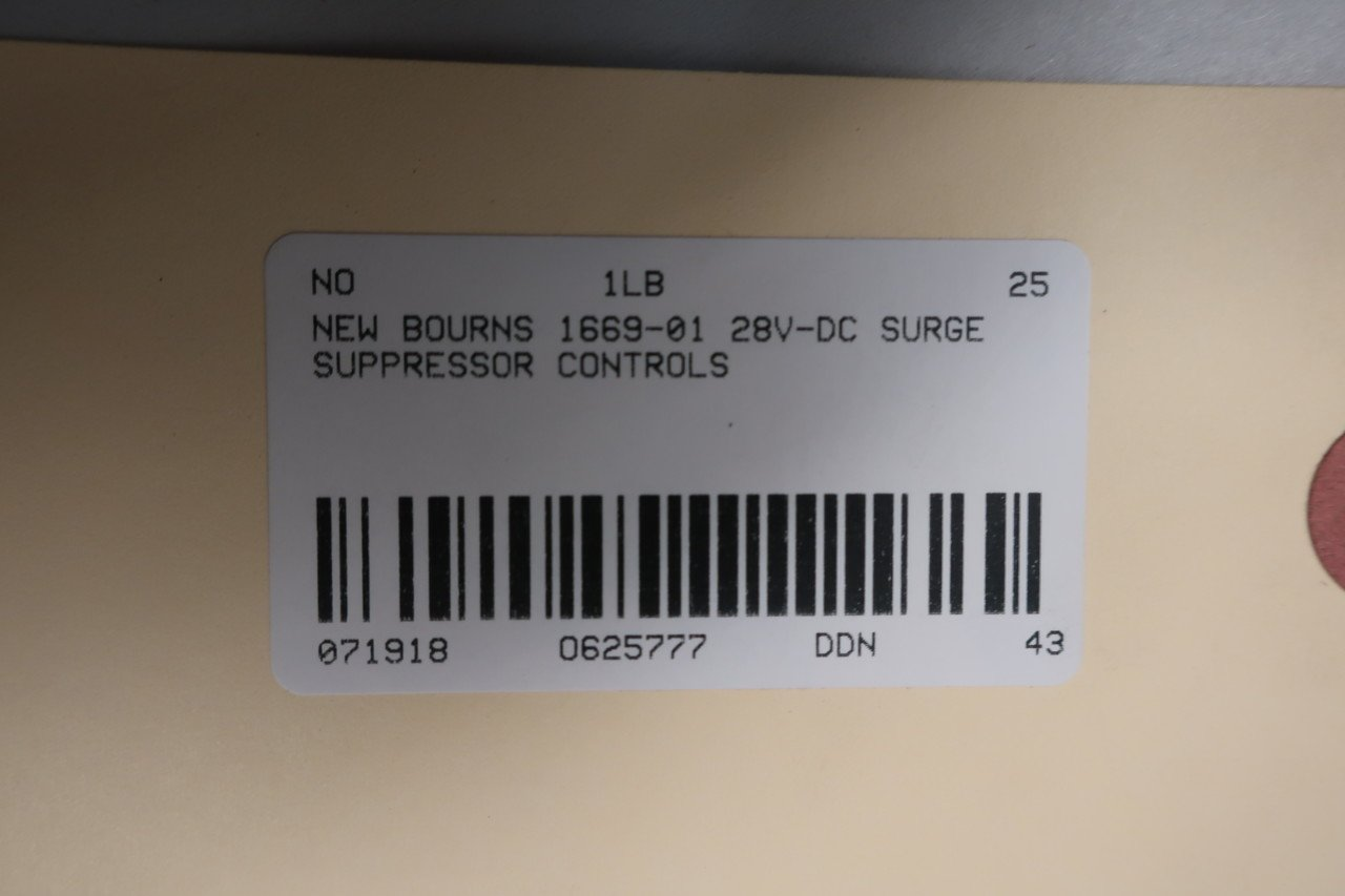 BOURNS 1669-01 Surge Suppressor 28V-DC D625777