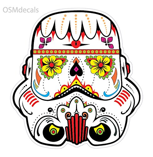 OSMdecals - Sugar Skull Sticker Version 16 - Day of the Dead