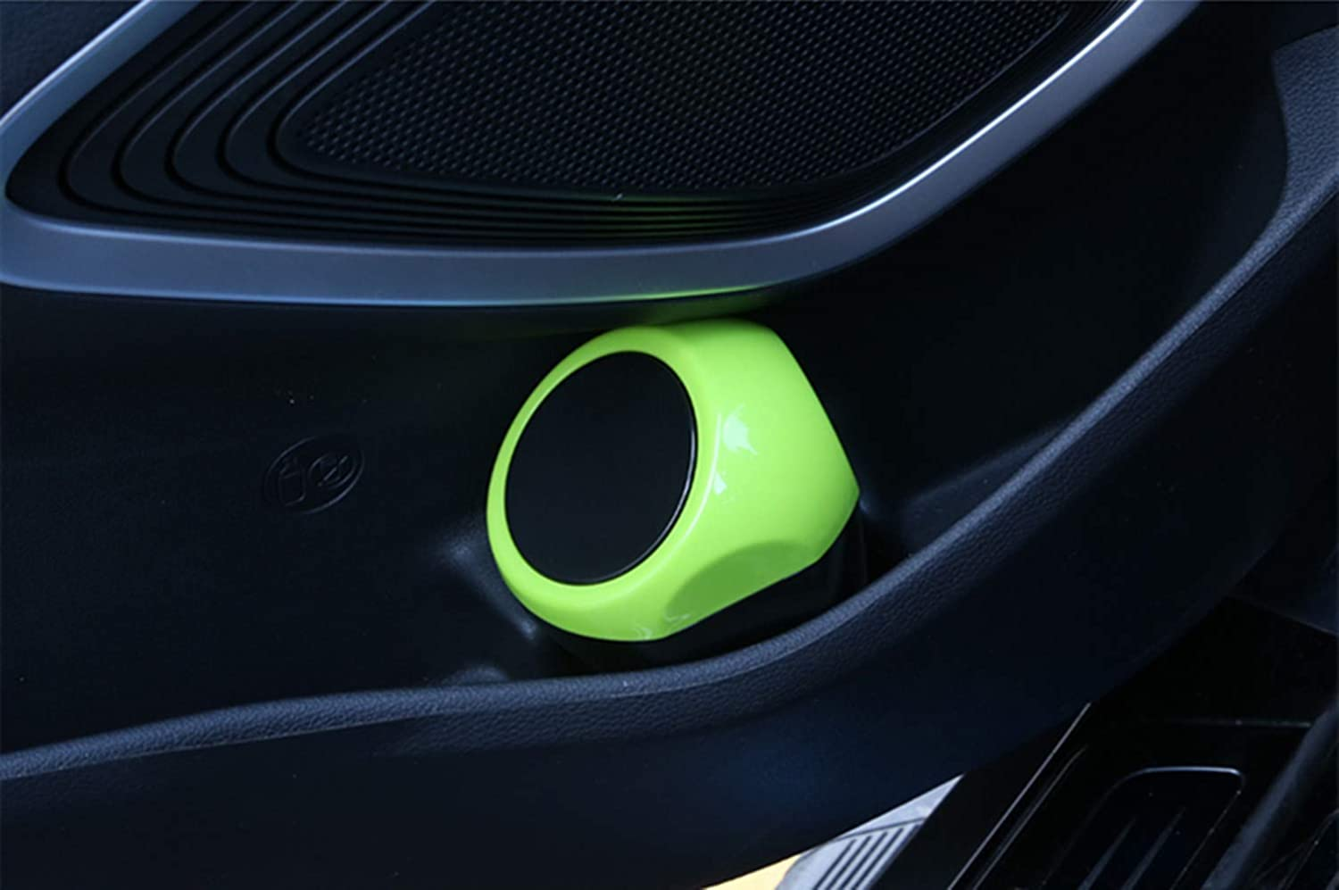DEF Mini Car Trash Can for Home Office in Car Green