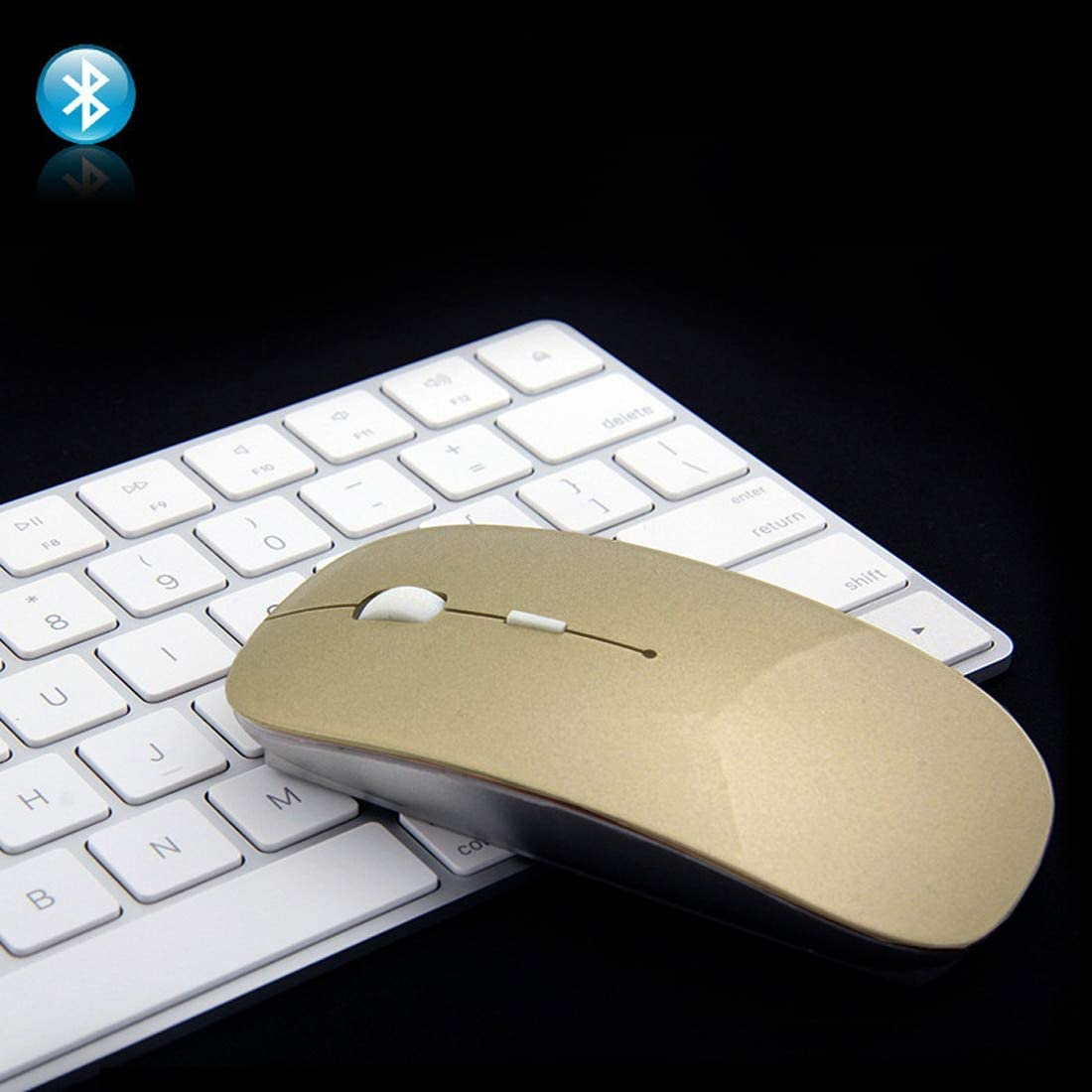 New Arrival 2.4Ghz Bluetooth 4.0 Dual Mode Wireless Mouse 1600 DPI Ultra-thin Ergonomic Portable Optical Mice Kavas