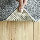 "RUGPADUSA, Anchor Grip, 11'x15', 1/8"" Thick, Felt + Rubber, Low Profile Non-Slip Rug Pad, Available in 3 Thicknesses, Many Custom Sizes, Safe for All Floors"
