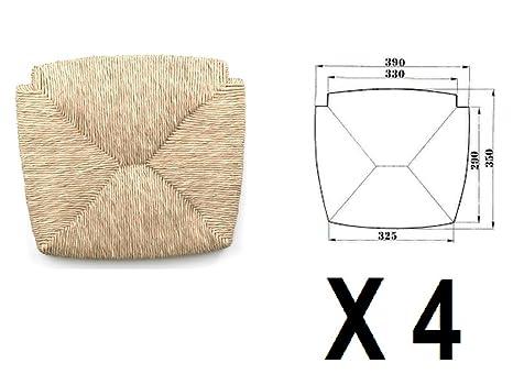 Sedute impagliate (mod. 1212 venezia) Ricambi per sedie [Set di 4 ...