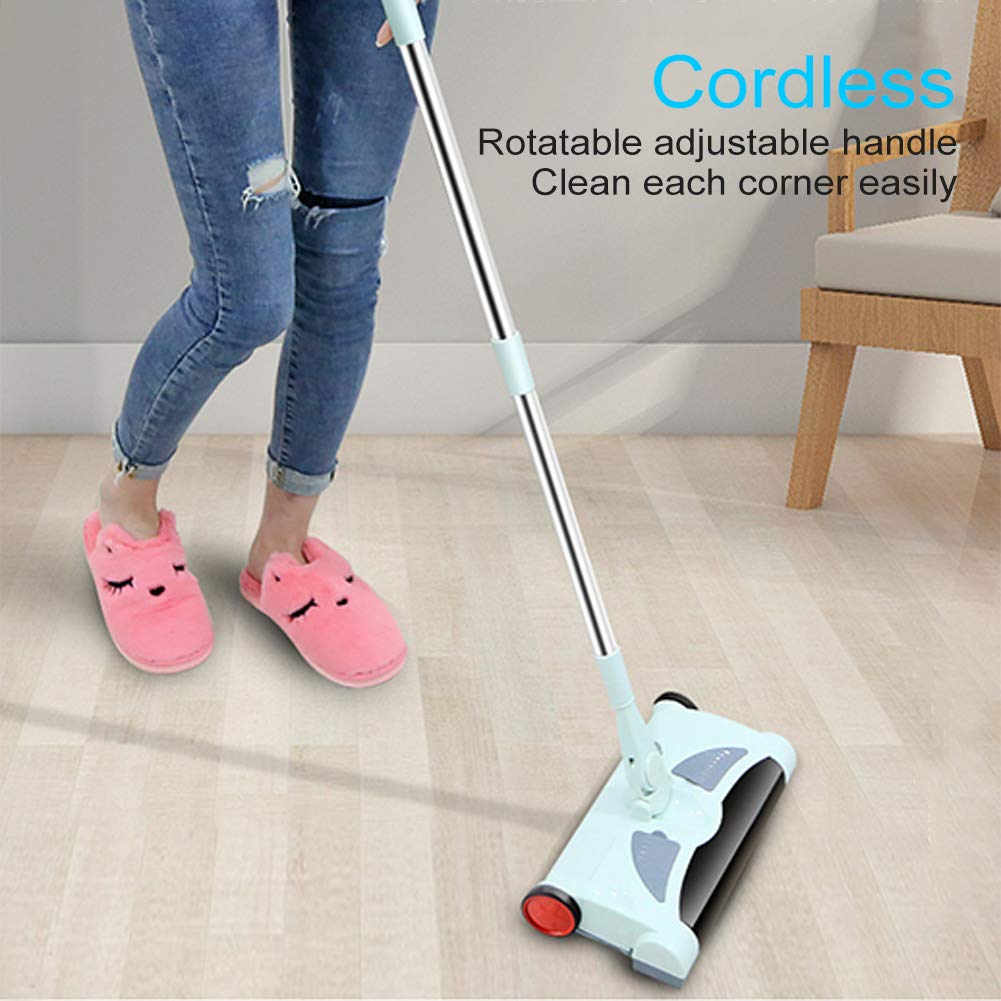 Electric Floor Cleaner Mop Cordless Stick Vacuum for Floor Cleaning Rechargeable Electric Sweeper Mop Combo Household Cleaning Supply for Indoor Any Surfaces by Woolala (Image #6)