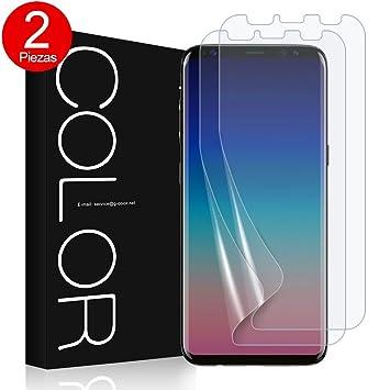 G-Color Galaxy S9PLUS Protector de Pantalla, [Alta Definición y Sensibilidad] TPU, Protector de Pantalla para Samsung Galaxy S9PLUS: Amazon.es: Electrónica
