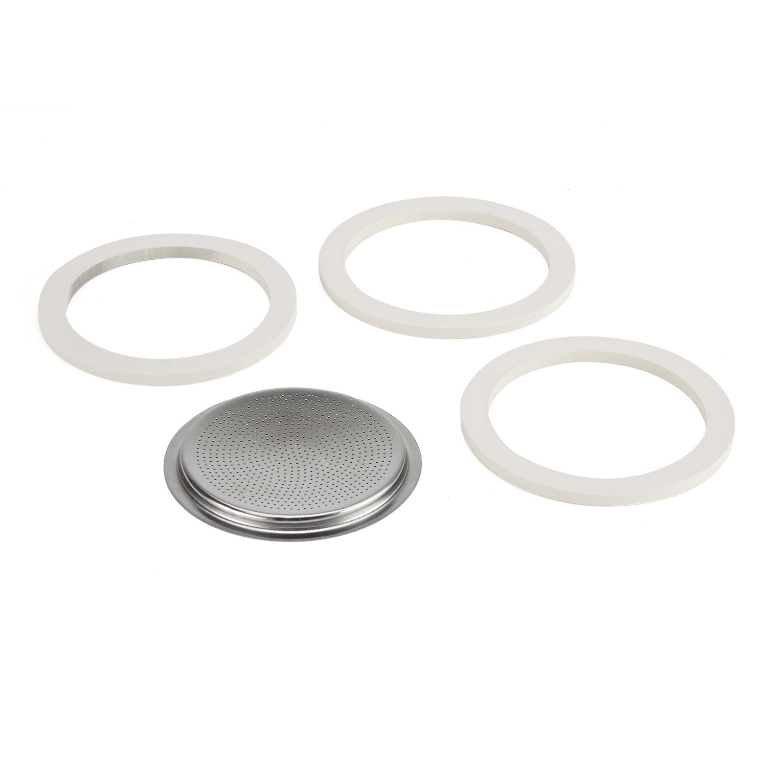 Bialetti 06617 Stainless Steel 10-Cup Gasket/Filter Plate Replacement Parts